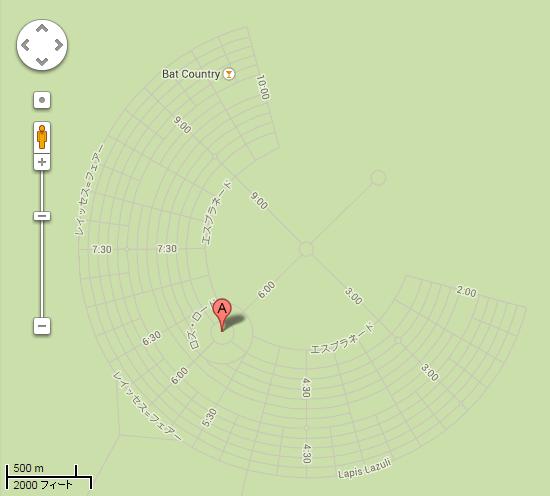 black rock city Center Camp   Google マップ