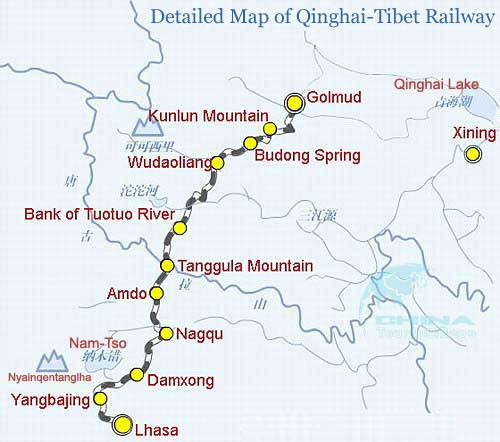 topographic-map-qingzang-railway