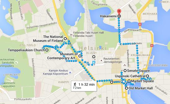 Helsingin päärautatieasema to Hakaniemi  Helsinki  Finland   Google Maps