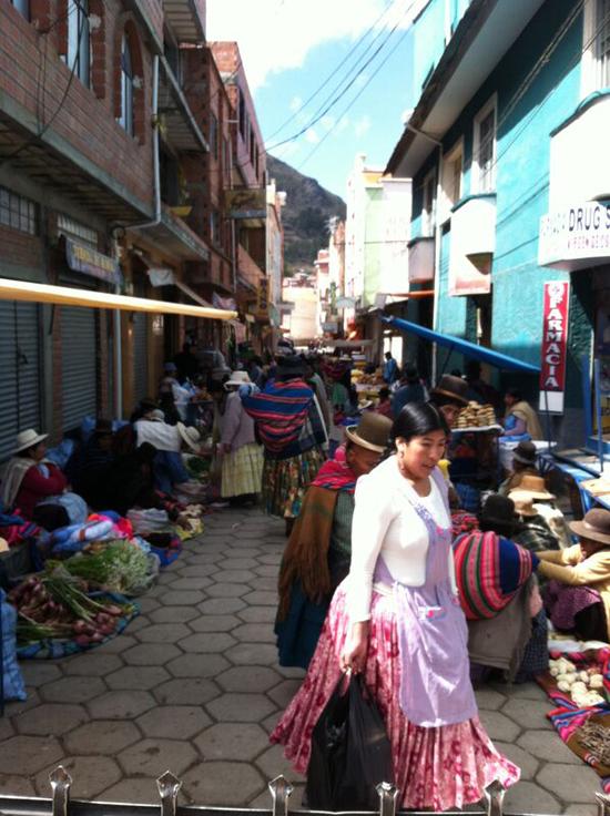 コパカバーナ市場