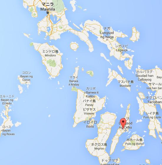セブ島   Google マップ