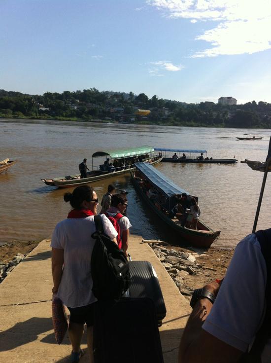 ラオス川下り2