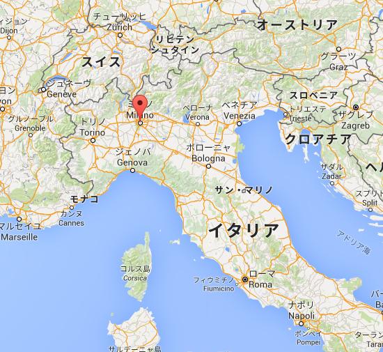ミラノ   Google マップ