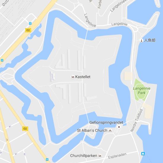 Sortedams Sø   Google マップ