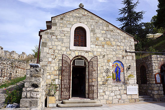 聖水をくれる教会