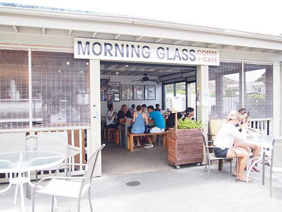 MORNING GLASS
