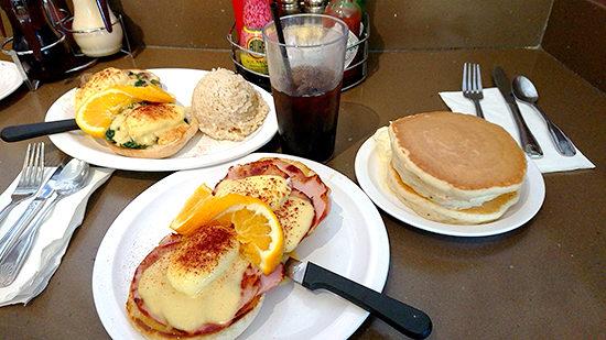 Eggs'n Singsのパンケーキ